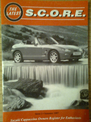 Suzuki Cappuccino Owners Register for Enthusiasts Magazine - Issue 2 1997