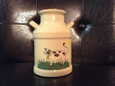 Vintage Small Cow Crock with Handles