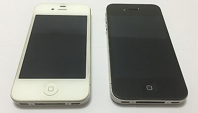 Apple iPhone 4s - 8GB- 16GB- 32GB Black & White (Factory Unlocked) Smartphone