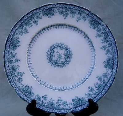 "Vintage New Wharf Pottery 9 7/8 "" Dish"" Richmond ""Pattern c.1878-1894"