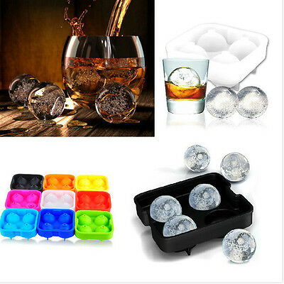 Bar Party Drink Sphere Big Round Ball Ice Brick Cube Maker Tray Mold Mould S78