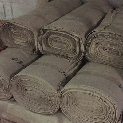 Hessian Fabric 10oz Natural Jute Burlap - Craft Sacking Upholstery Wedding 72""