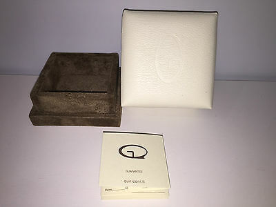 Used - QUIRICONI Box Case Joyero Jeweler + Booklet - For Collectors