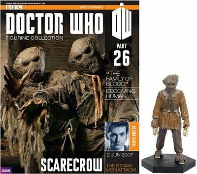 Doctor Who Figurine Collection #Part 26 SCARECROW #AA52