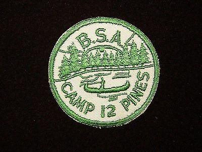 BOY SCOUT CAMP 12 PINES EARLY 50'S PP OSWEGO COUNTY CNCL NY