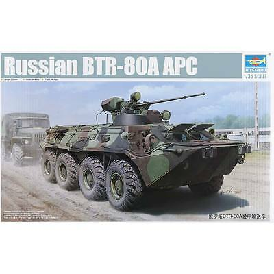 NEW Trumpeter 1/35 Russian BTR-80A Armored Personnel Carrie 1595