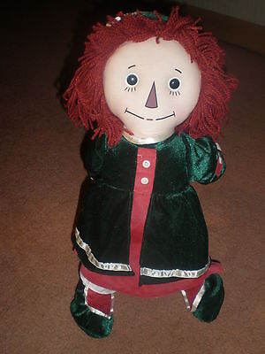 EXTREMELY RARE Vintage  Doll RAGGEDY ANN HOLIDAY #571 OF 5000