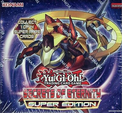 YUGIOH SECRETS OF ETERNITY SUPER EDITION Display Box SEALED IN HAND!!