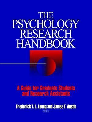 The Psychology Research Handbook: A Guide for Graduate Students and Research Ass