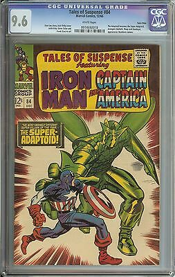 Tales Of Suspense #84 Cgc 9.6 White Pages // Twin Cities Pedigree