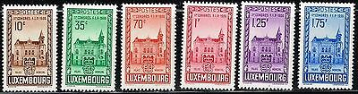 Luxembourg SC# 200-205, Mint Hinged.       Lot 02152015