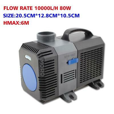 10000LPH Submersible Aquarium Fountain Pond Marine Eco Water Pump Fish Tank OZ