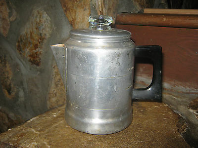 Vintage Travel/Camping Coffee Pot, Cornet, Made in USA