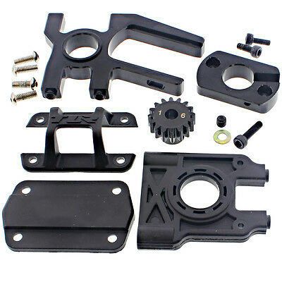 Losi 1/8 8ight-E Buggy RTR * MOTOR MOUNT, ADAPTER 16T PINION GEAR TOP BRACE DIFF