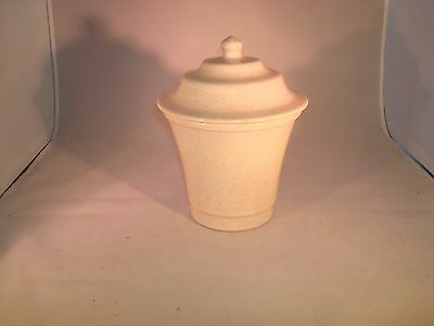 Vintage Pottery Cookie Jar Small Unmarked
