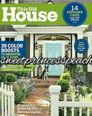 THIS OLD HOUSE MAGAZINE 1YR 10 ISSUES NEW RENEW SUBSCRIPTION