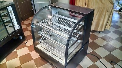 True TCGR-36 19 cu. ft. Commercial Refrigerator Curved glass pastry display case