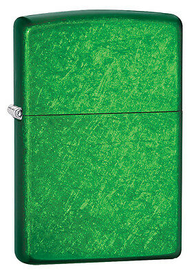Zippo Windproof Meadow Green Lighter, # 24840, New In Box