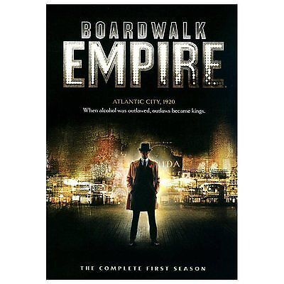 BOARDWALK EMPIRE: The Complete First Season 1 (5-Disc HBO DVD Boxed Set) ~ NEW