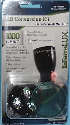 TERRALUX MAGLITE MAG CHARGER RECHARGEABLE FLASHLIGHT LED BULB TLE 310MR EX NEW