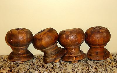 Wood Furniture  Salvage Parts Finials Knobs Repurpose