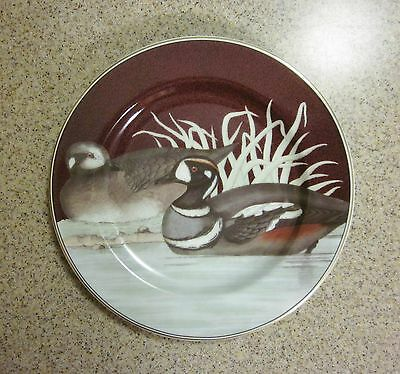 Fitz and Floyd Collectible Canard Plate 1995 Fine Porcelain