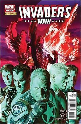 lot of 5 comics Invaders Now! (Dynamite/Marvel) #1, 2, 3, 4, 5