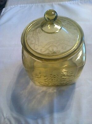 Federal Madrid Cookie Jar with Lid