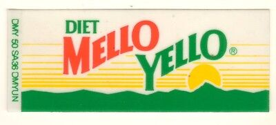 "Mello Yello Vending Machine Insert 1 7//8/"" x 4 5//8/"" Mountain Logo"