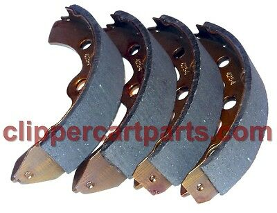 Golf Cart Brake Shoe Set - For Club Car 1995 and up. Some EZGO and Yamaha.