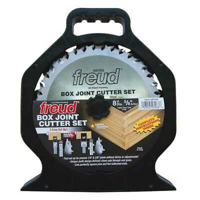 "Freud SBOX8 8"" Box Joint Cutter Set New"