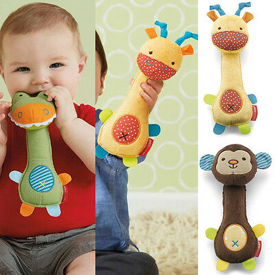 Baby Toy Animal Baby Development Toy Skip Hop Giraffe Safari Squeeze-Me
