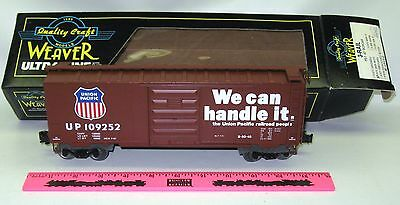 New Weaver Ultra Line #3076 Union Pacific 3-rail PS-1 40' Boxcar #109252