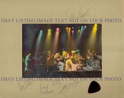 KANSAS BAND GROUP SIGNED AUTOGRAPHED 8x10 RP PHOTO POINT OF NO RETURN