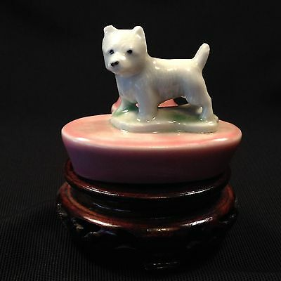 WADE WHIMSIE Porcelain West Highland Terrier ZOO LIGHT