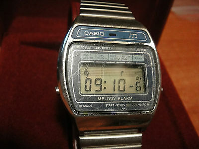 Casio orologio vintage lcd melody