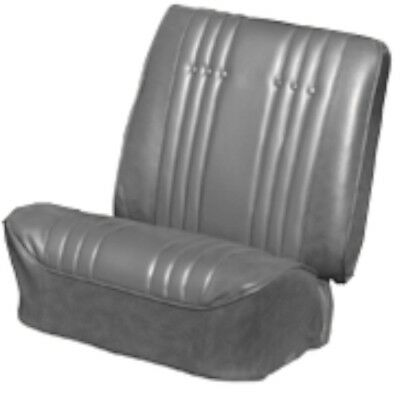 1965 Skylark / GS Black Front Bucket Seat Covers & Coupe Rear - PUI
