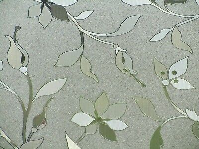 Frosted Etched Glass Stained Window Film Vinyl Decorative Privacy Static Paper