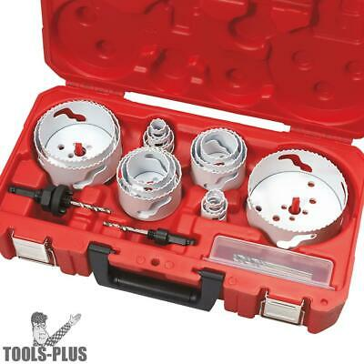 Milwaukee 19 Piece Master Electrician's Hole Dozer Hole Saw Kit 49-22-4105 New