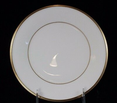 """Lenox China - ETERNAL - Ivory with Gold Trim, Salad Plate 8 1/8"""""""