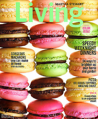 Martha Stewart Living 1YR PRINT Magazine Subscription (10 issues) PRESALE