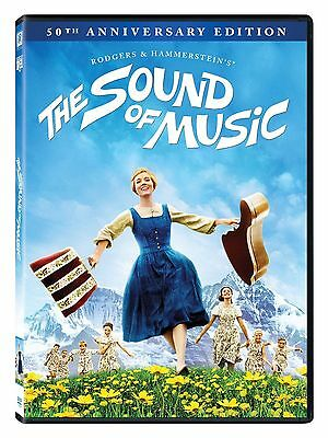 THE SOUND OF MUSIC - 50th ANNIVERSARY WIDESCREEN EDITION DVD + BONUS SING-A-LONG