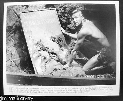 JAMES FRANCISCUS Vintage BENEATH THE PLANET OF THE APES SciFi PHOTO NYC Subway