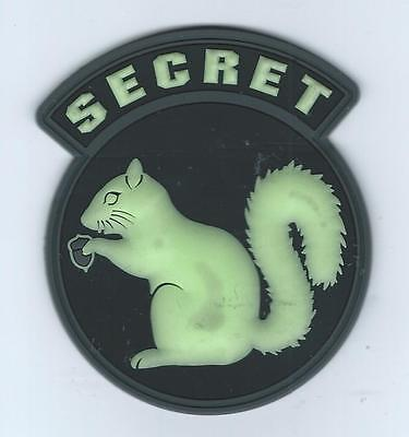 """351st AIR REFUELING SQUADRON""""SECRET SQUIRREL"""" (GLOW IN THE DARK) patch"""
