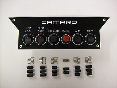 82-92 Camaro Z28 IROC Console Switch Panel Nitrous Oxide etc..