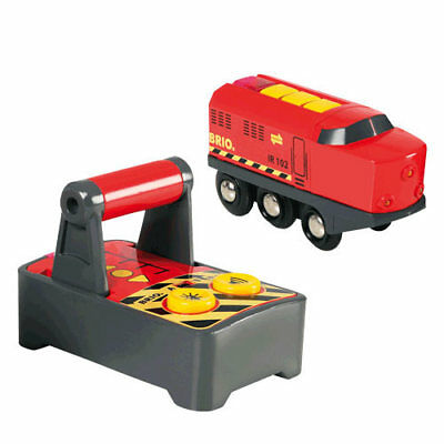 BRIO 33213 Remote Control Engine for Wooden Train Set