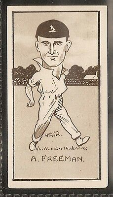 Hill-Caricatures Of Famous Cricketers-#48- Kent - Freeman