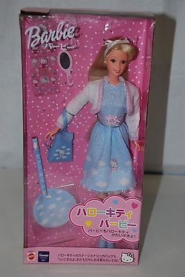 Rare Japan Only Issue 1999 Mattel Sanrio Hello Kitty BARBIE, Blonde - NIB