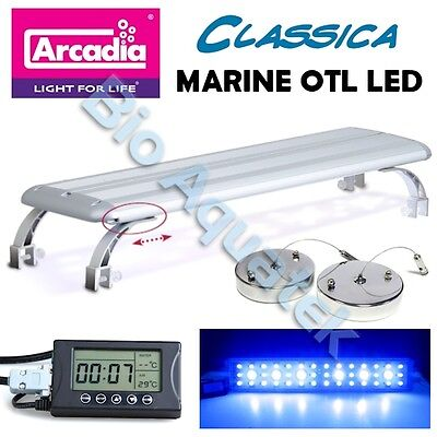 Arcadia Classica Marine Aquarium OTL LED Over Tank Luminaire Reef Fish Tank