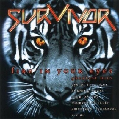 Survivor - Fire In Your Eyes-Greatest Hits  Cd  18 Tracks Hard Rock Best Of New+